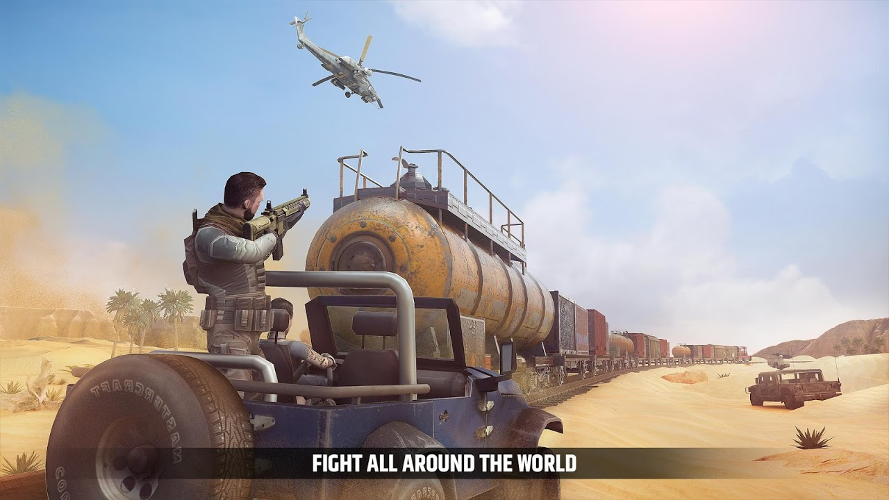 Android Cover Fire: shooting games Screen 1