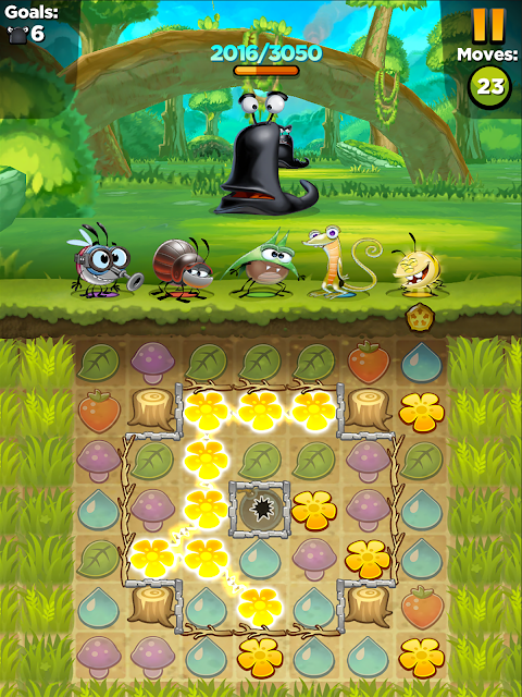 Android Best Fiends - Puzzle Adventure Screen 1