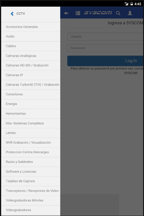 Android SYSCOM para Android Screen 9