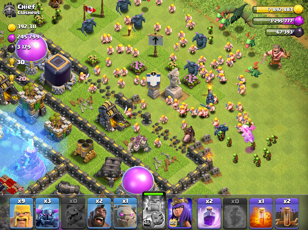 Android Clash of Clans Screen 7
