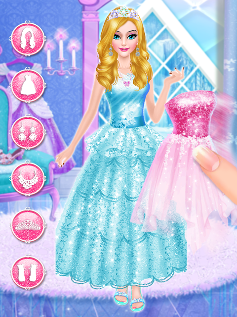 Ice Beauty  Princess Makeover 1.0 Screen 3