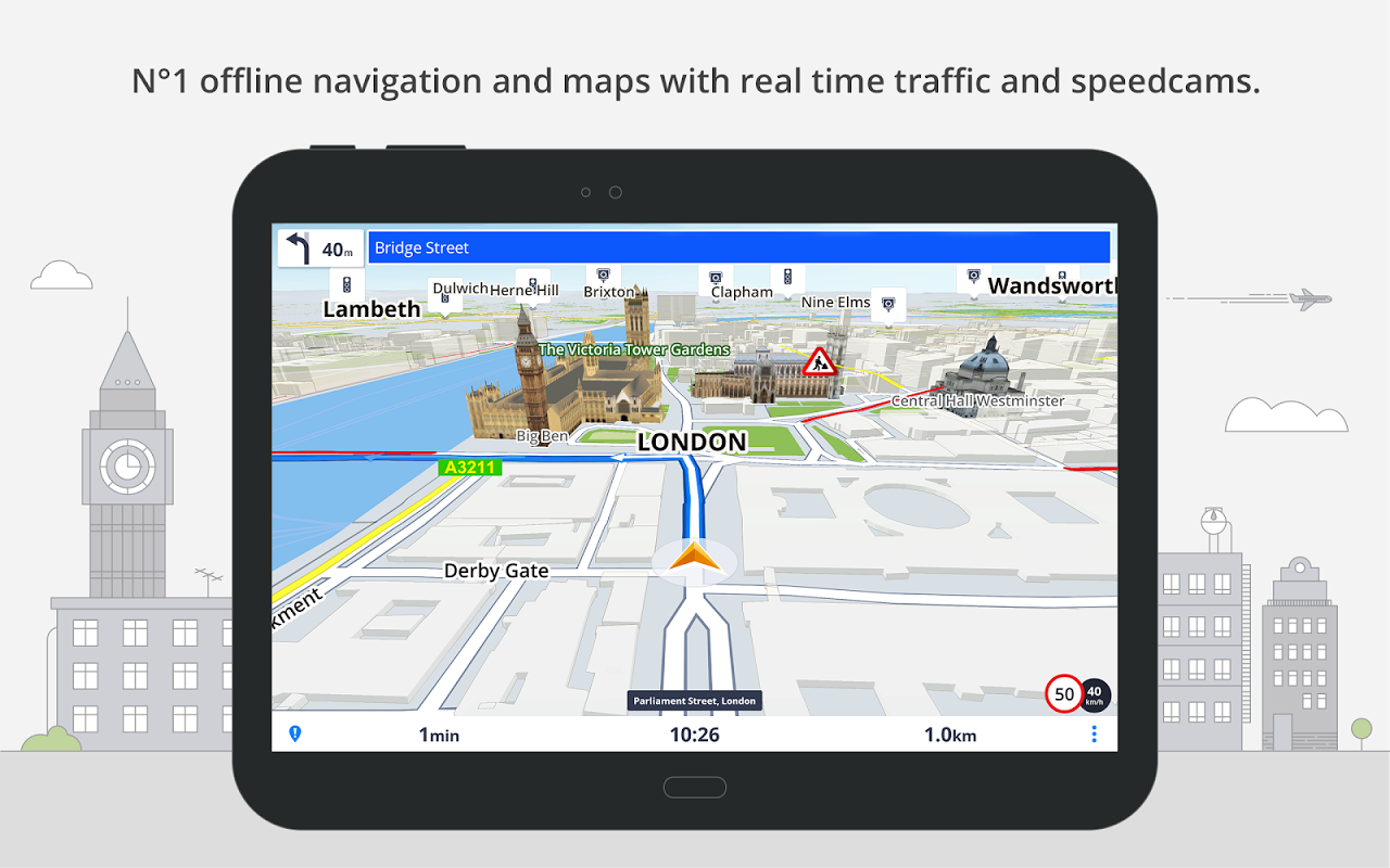 GPS Navigation & Maps Sygic 17.0.7 Screen 8