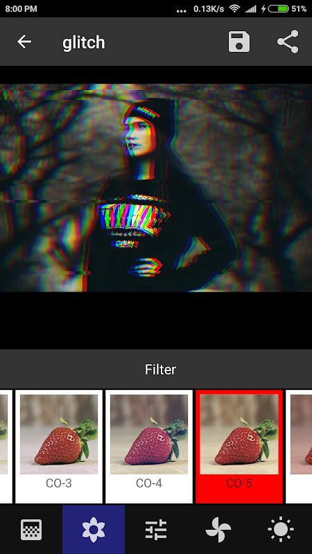 Onetap Glitch - Photo Editor 2.0.7 Screen 4