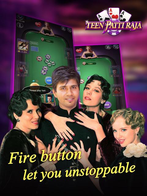 Android Teen Patti Raja- Indian poker and 3 patti free casino game Screen 8