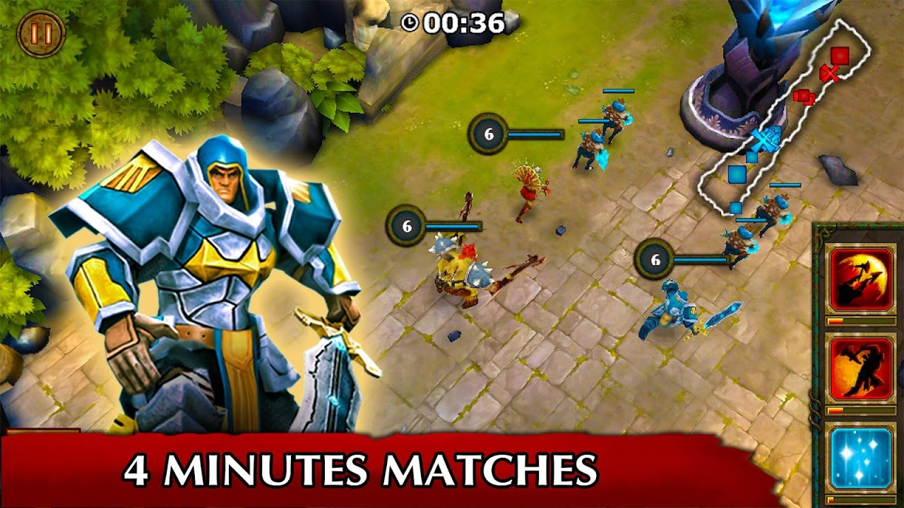 Legendary Heroes MOBA 3.0.52c Screen 5