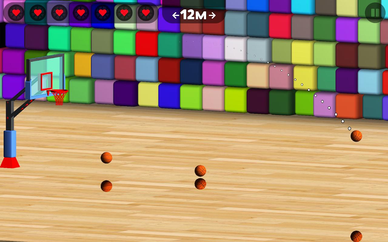 Android Basketball Sniper Shot Screen 4