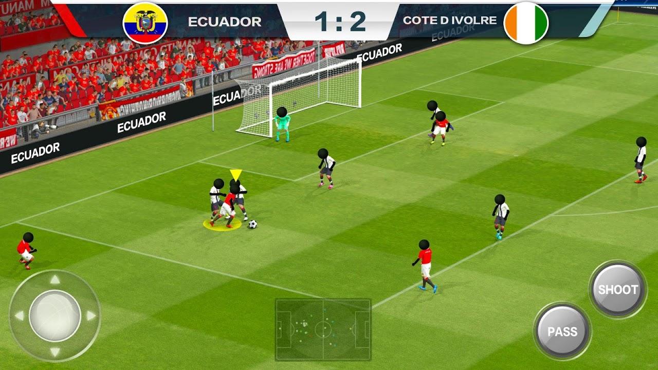 Android 2019 Football Fun - Fantasy Sports Strike Games Screen 2