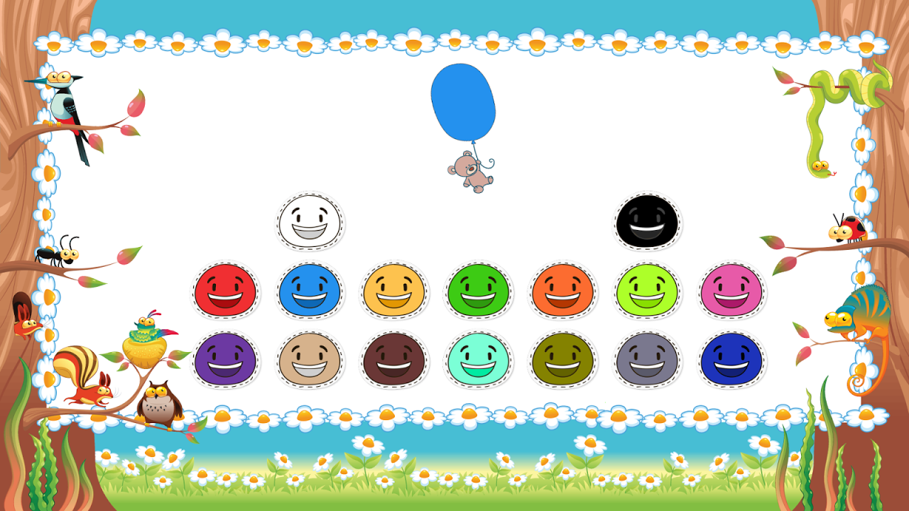 Android Toddler Colors Learning - Kids Educational Game Screen 1