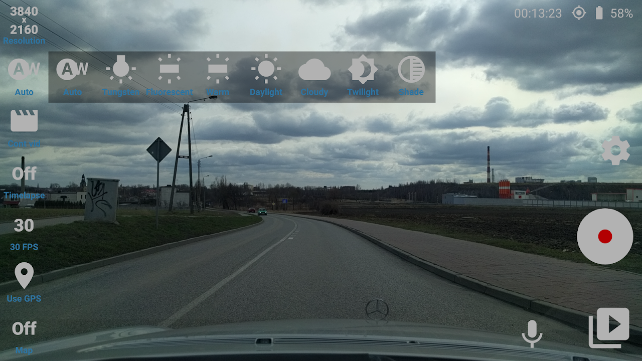 Android Car Camera Pro Screen 2