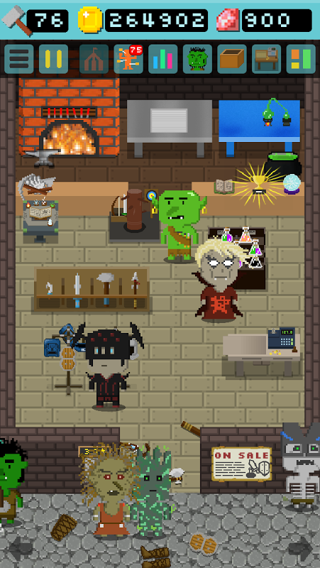 Android Goblin's Shop Screen 1