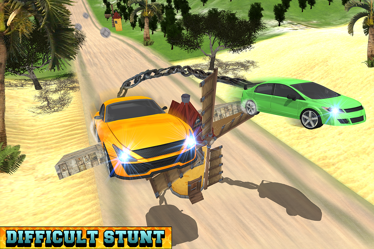 Android Chained Cars Racing Stunts Screen 6