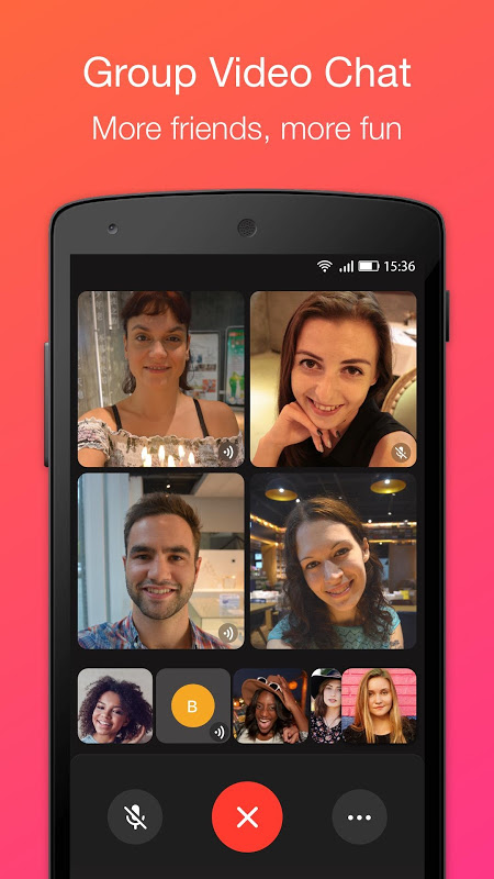 JusTalk - Free Video Calls and Fun Video Chat 7.2.54 Screen 4