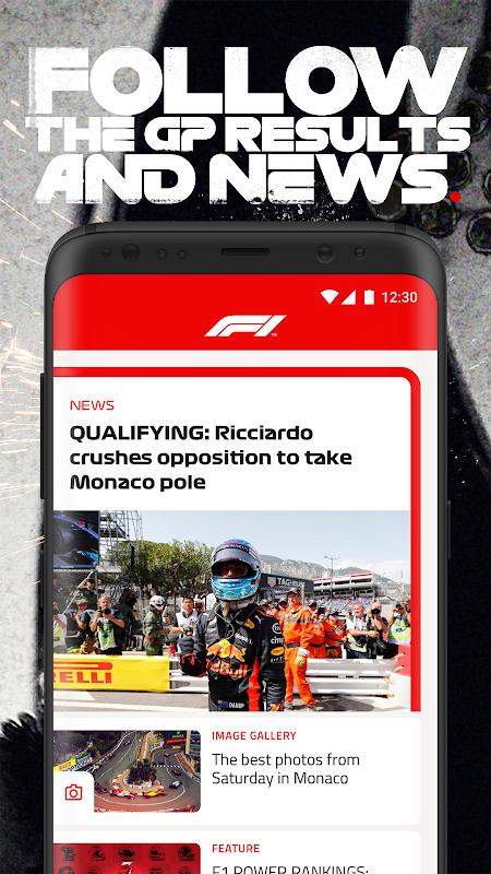 Android Formula 1® Screen 2