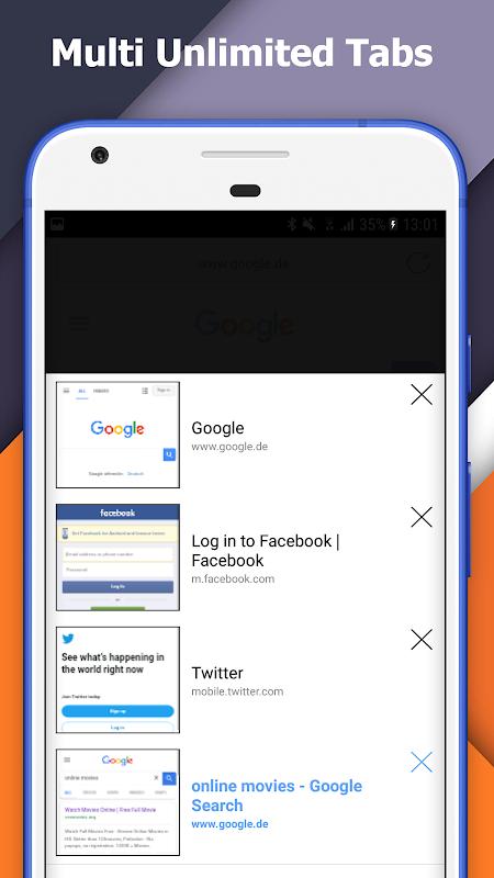 Incognito+ Pro fast private anonymous Browser 105 Screen 3