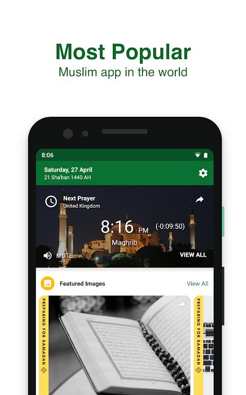 Muslim Pro - Prayer Times, Azan, Quran & Qibla 9.13 Screen 6
