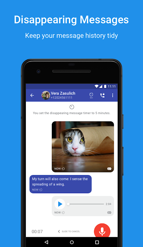 Android Signal Private Messenger Screen 2
