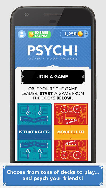 Android Psych! Outwit Your Friends Screen 2
