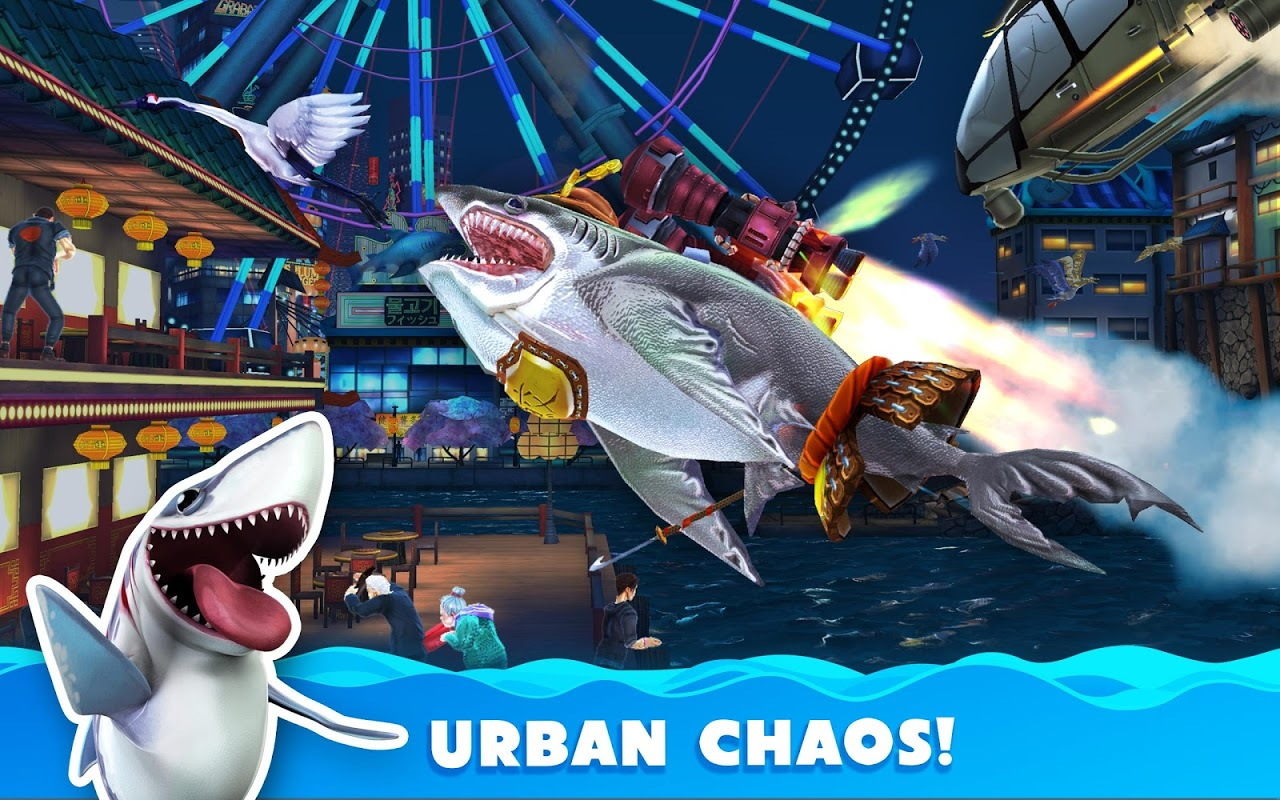 Android Hungry Shark World Screen 17