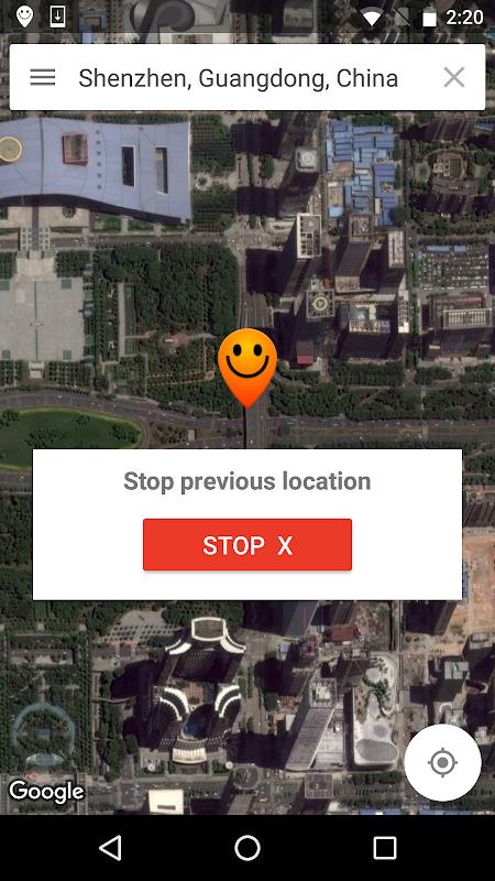 Fake GPS location - Hola 1.122.880 Screen 3