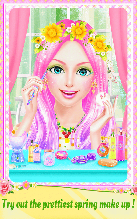 Android Spring Date Flower Spa & Salon Screen 7