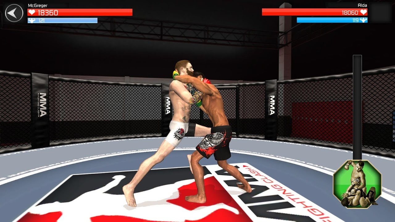 Android MMA Fighting Clash Screen 7