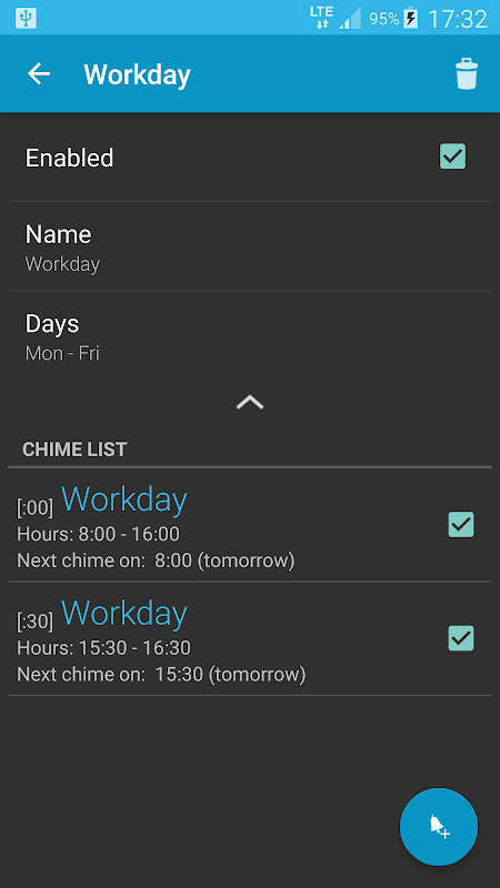 Hourly chime 5.7.2 (Android 6+) Screen 3