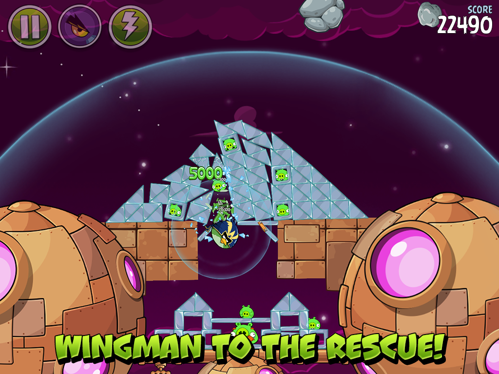 Angry Birds Space 2.2.14 Screen 7
