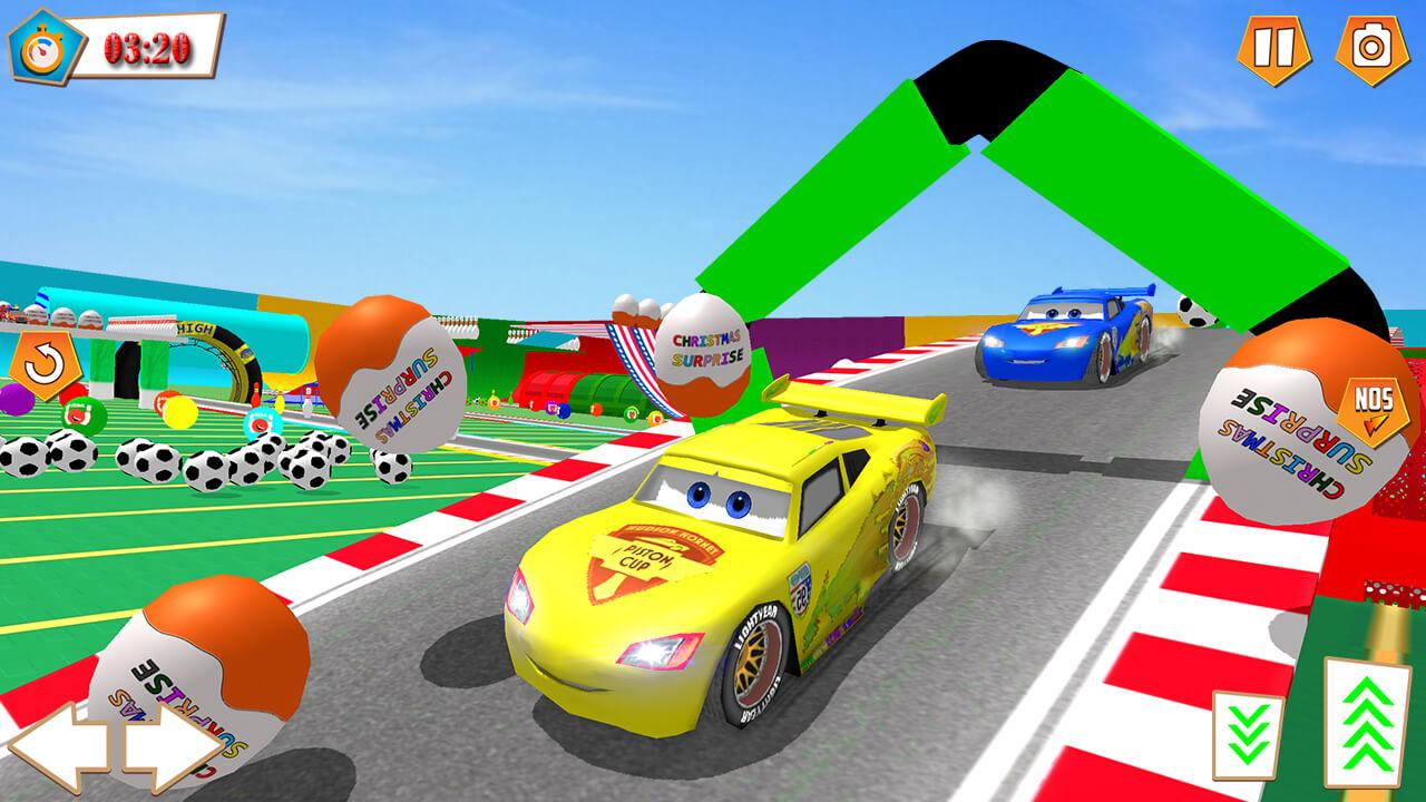 Android Superhero Racing Car driving Stunts Screen 2