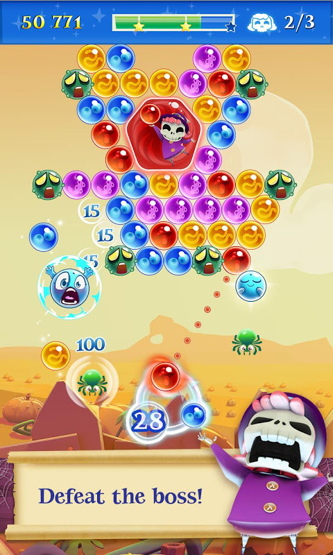 Android Bubble Witch 2 Saga Screen 1