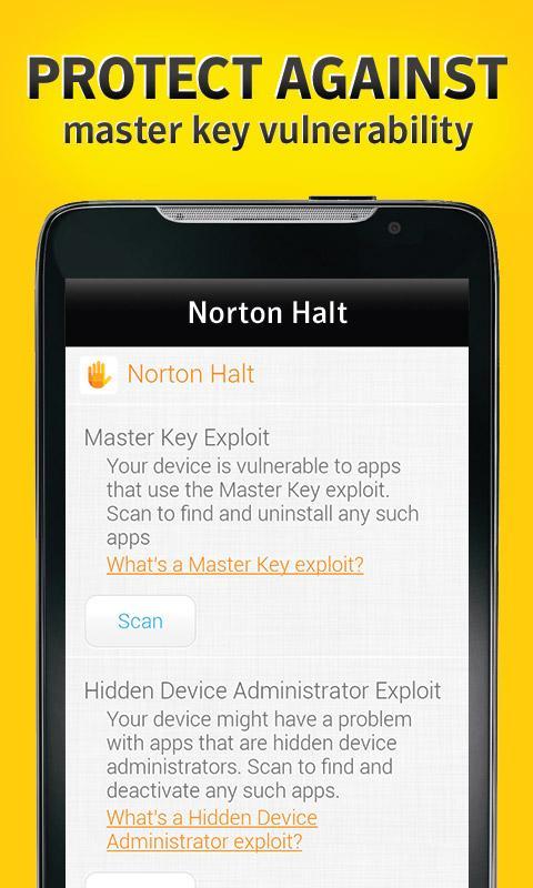 Norton Halt 5.6.0.173 Screen 1