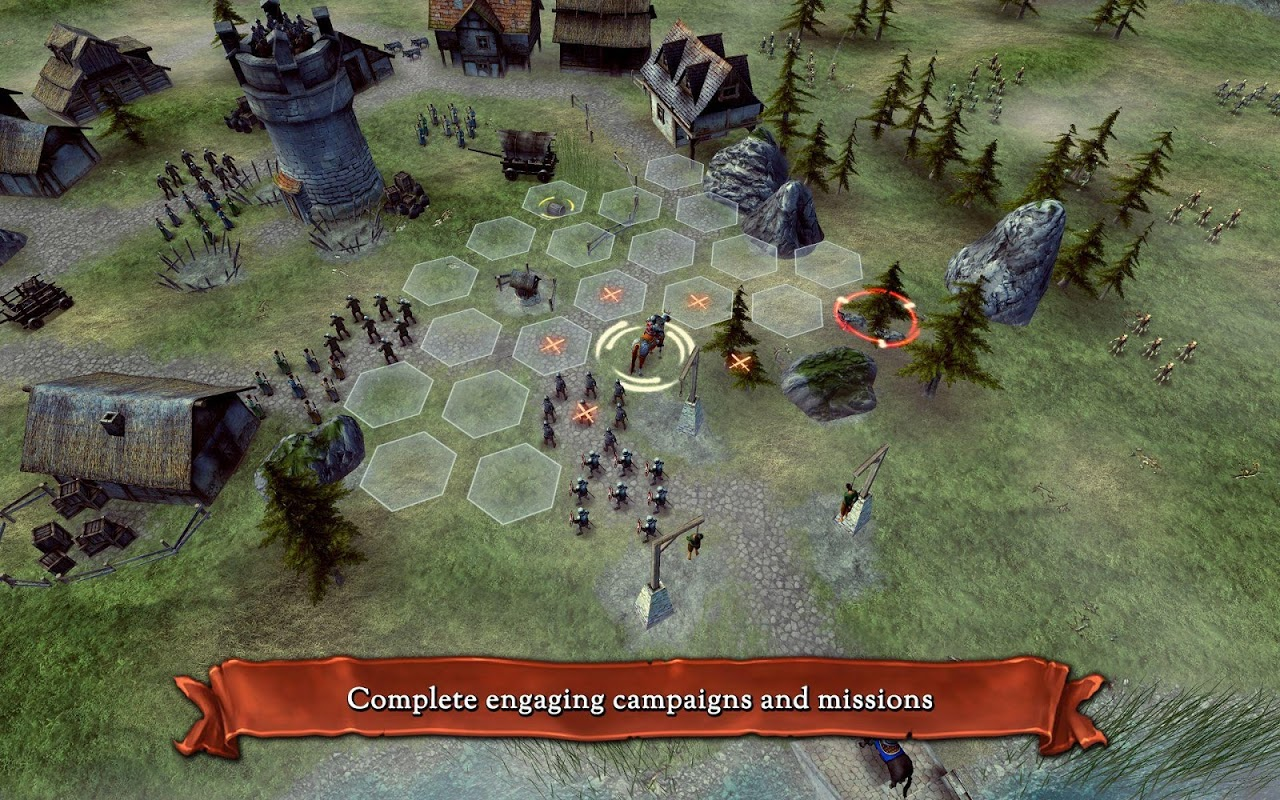 Android Hex Commander: Fantasy Heroes Screen 22