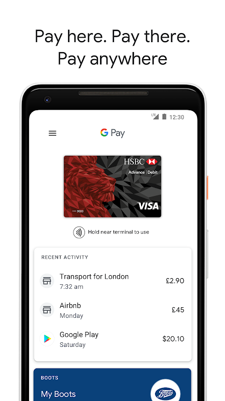 Android Pay 2.74.212360432 Screen 5