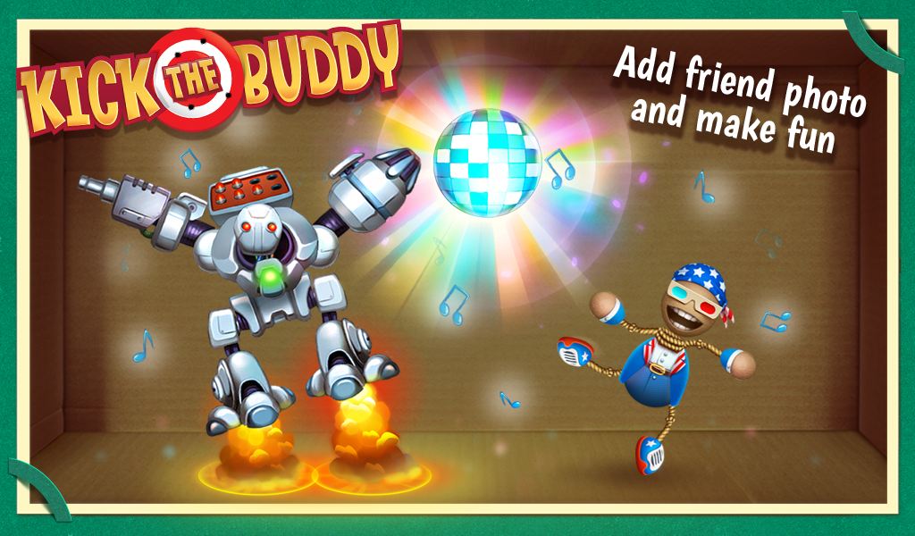 Android Kick the Buddy Screen 1