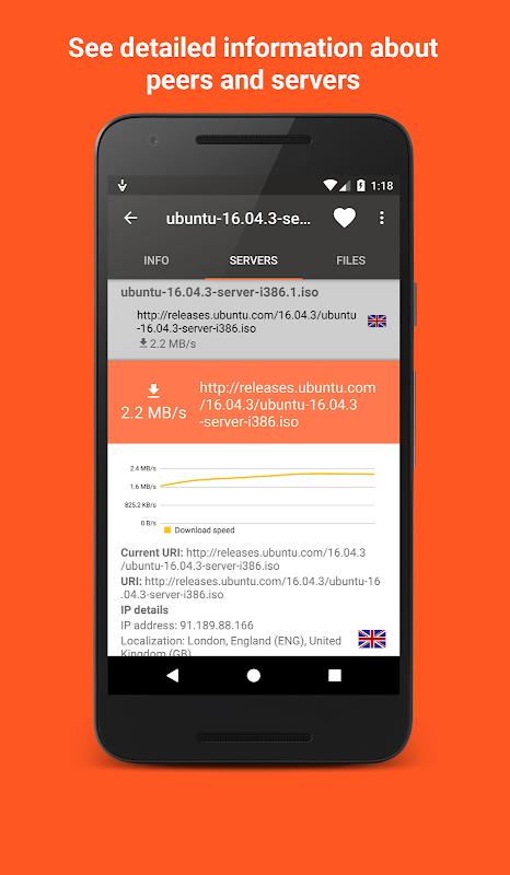 Aria2App (open source) 4.0.3 Screen 3