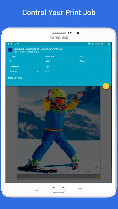 Samsung Print Service Plugin 3.03.180907 Screen 5