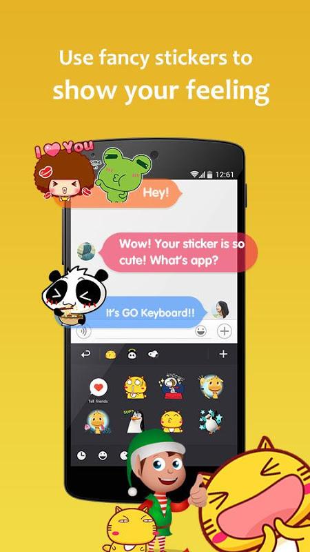 GO Keyboard 3.20 Screen 4