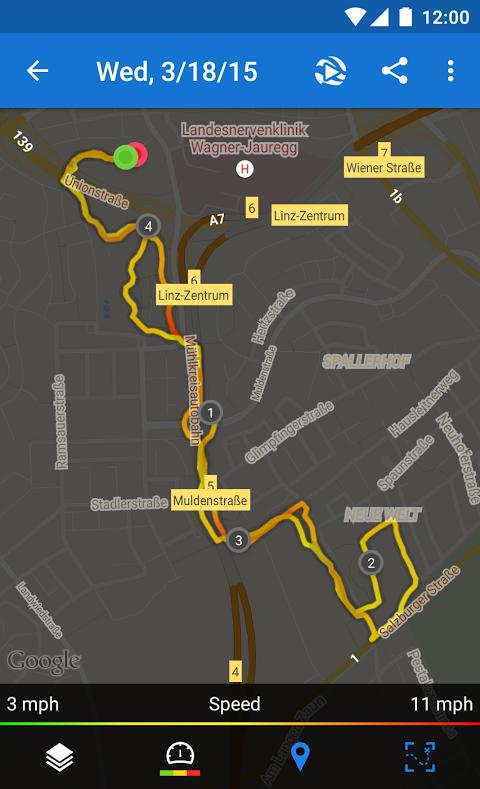 Runtastic PRO Running, Fitness 7.5.1 Screen 5