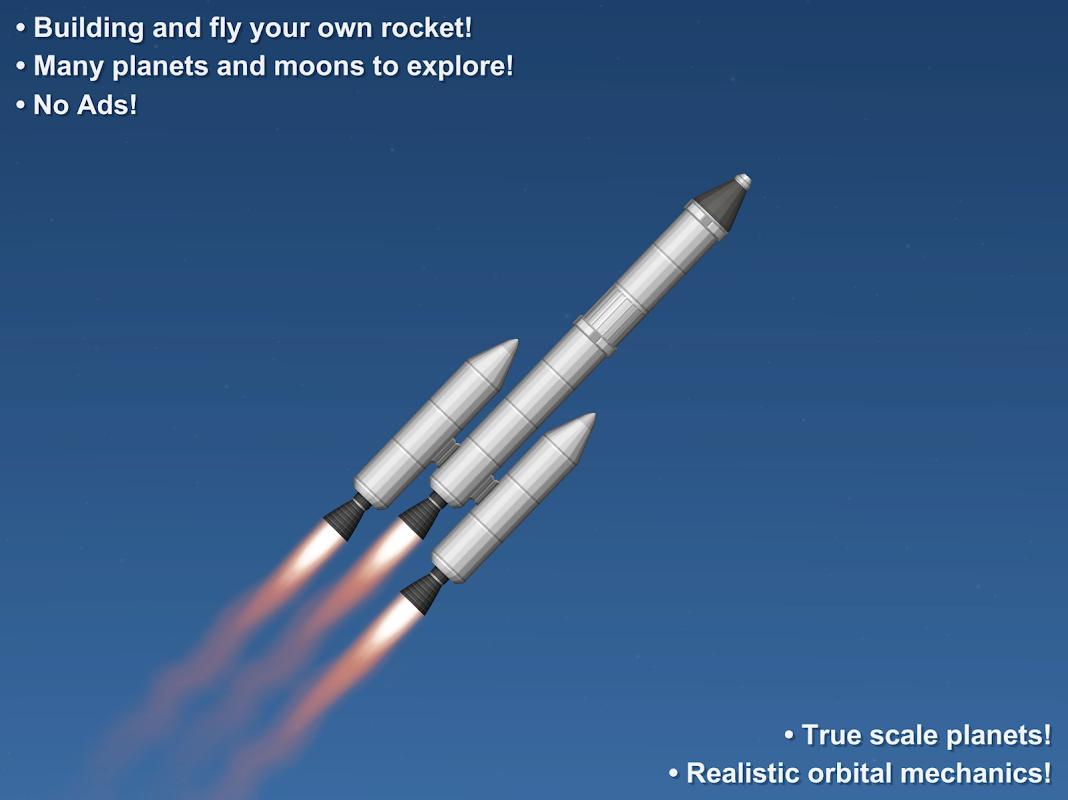 Android Spaceflight Simulator Screen 2