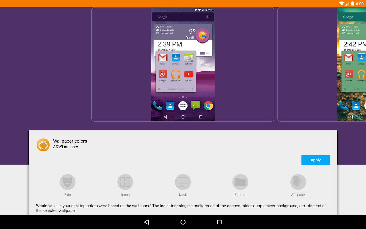 Android ADW Launcher 2 Screen 10