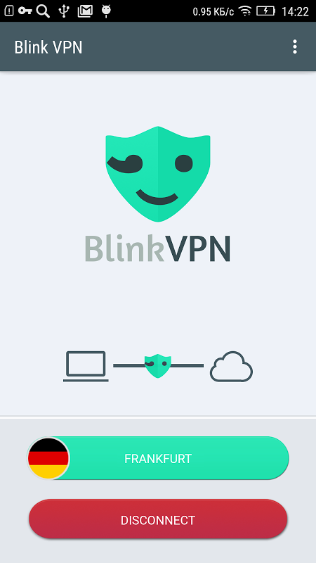 Android Blink VPN Screen 5