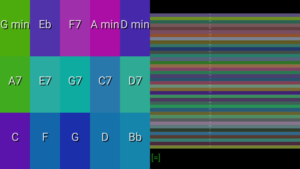 Android Color Autoharp Screen 4