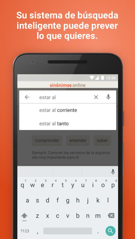 Diccionario Sinónimos Offline 2.7.0 Screen 2