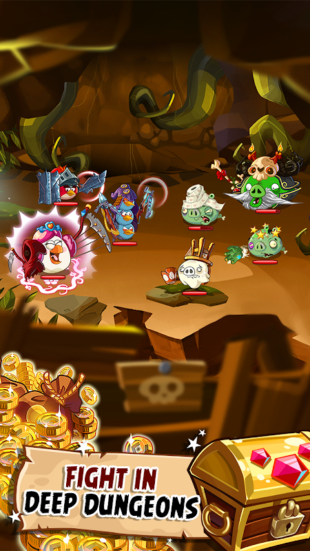 Android Angry Birds Epic RPG Screen 3