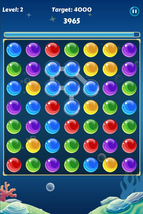 Android Bubble Crush Screen 1