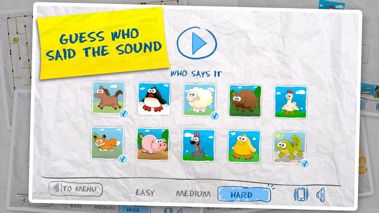 Free Kids Games (10 in 1) 2.7 Screen 5