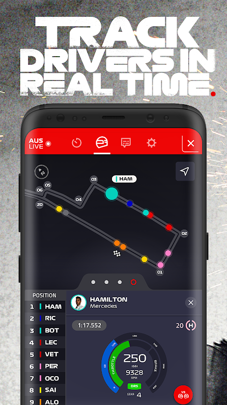 Android Formula 1® Screen 4