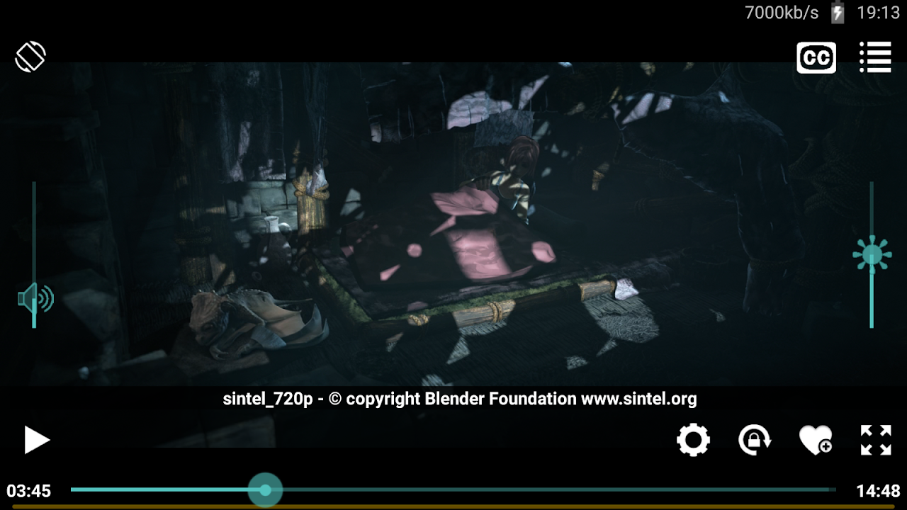 Android Wuffy Media Player Screen 1
