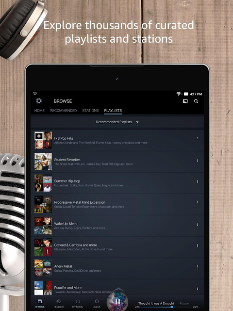 Android Amazon Music Screen 11