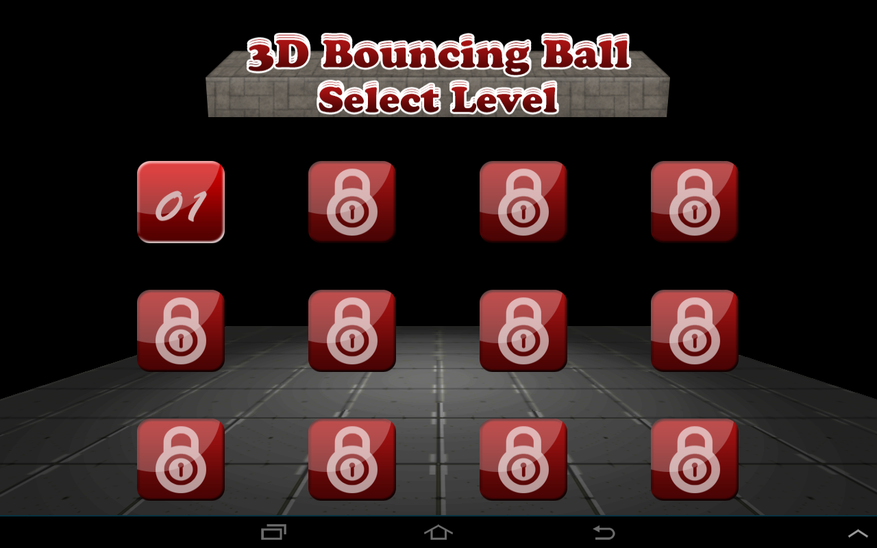 Android 3D Bouncing Ball Free Screen 2