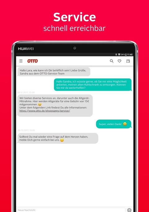 Android OTTO - Shopping für Mode & Wohnen Screen 9